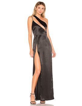 Fabiana Gown In Black Noir by H:Ours