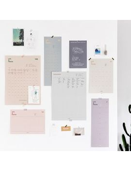 Full House   Live Work Wall Planner (Various Designs) by Full House