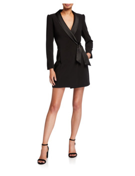 Heather Cady Blazer Wrap Dress by Milly