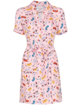 Maria Miami Print Mini Dress by Hvn