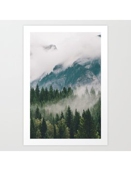 Vancouver Fog Art Print by Society6
