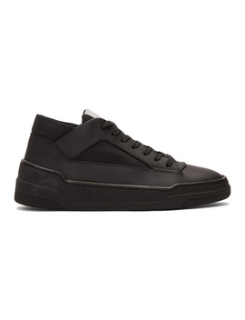 Black Mt 02 High Top Sneakers by Etq Amsterdam