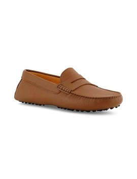 Santi Moccasin In Brandy Leather by Ace Marks