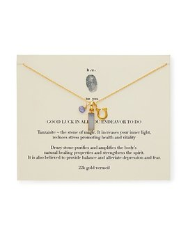 Good Luck In All You Do Necklace by Mary Steratore