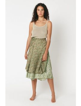 Etka Wrap Skirt by Tree Of Life