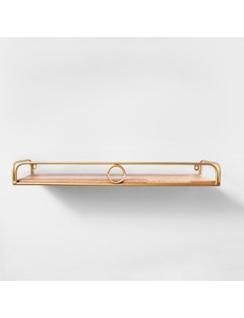 Decorative Wall Shelf Gold   Opalhouse™ by Opalhouse