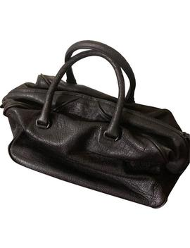 Patent Satchel Matita Goat Skin Leather Hobo Bag by Bottega Veneta