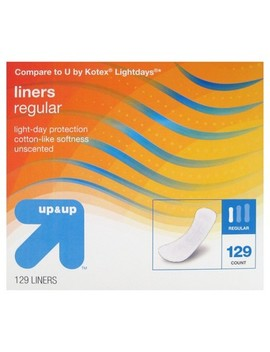 Panty Liners   Regular Absorbency   129ct   Up&Up™ by Up&Up