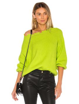 Clara Off Shoulder Sweater by Superdown