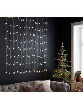 Star Curtain Rain Lights by Pottery Barn