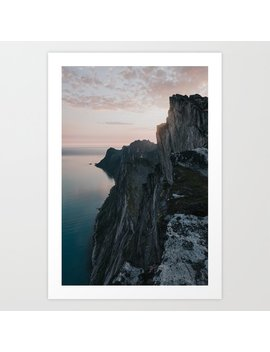 The Cliff   Landscape And Nature Photography Art Print by Society6
