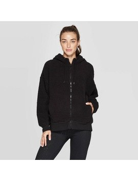 Women's Training Sherpa Fleece Full Zip Track Jacket   C9 Champion® by C9 Champion