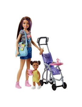 Barbie Skipper Babysitters Inc. Doll And Stroller Playset by Barbie