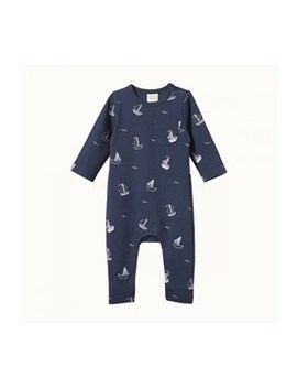 Long Sleeve Romper by Nature Baby