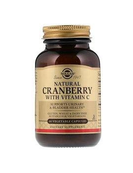 Solgar, Natural Cranberry With Vitamin C, 60 Vegetable Capsules by Solgar