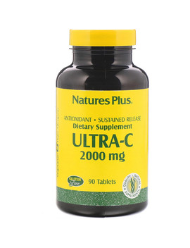 Nature's Plus, Ultra C, 2,000 Mg, 90 Tablets by Nature's Plus