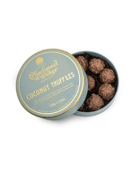 Flavored Chocolate Truffles In Gift Box by Charbonnel Et Walker