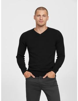 Russell V Neck Sweater by G By Guess