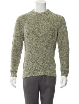 Mixed Yarn Crew Neck Sweater by Folk