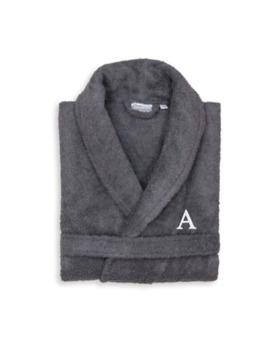 Linum Home Textiles Small/Medium Turkish Cotton Terry Unisex Bathrobe In Grey by Bed Bath And Beyond