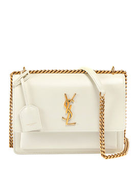 Sunset Medium Monogram Ysl Chain Crossbody Bag by Saint Laurent