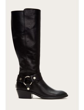 Carson Harness Tall Wide Calf by Frye