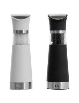 Graviti Pro Electric Salt And Pepper Grinder Set, Bpa Free by Ozeri