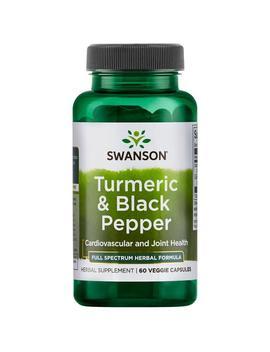 Turmeric & Black Pepper by Swanson Premium