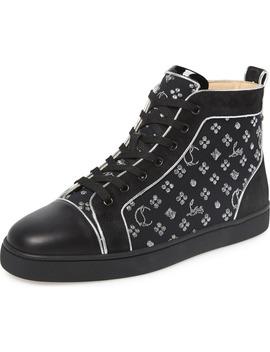 Louis Orlato High Top Sneaker by Christian Louboutin