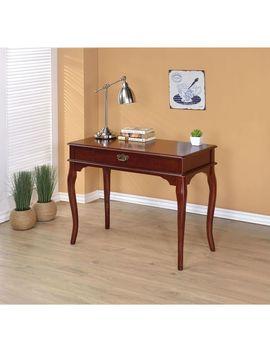 Gracewood Hollow Gabriel Simple Classic Wood Desk   Espresso Finish   Espresso by Gracewood Hollow
