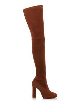 Ledyland Suede Over The Knee Boots by Stuart Weitzman