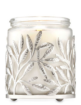 Silver Branches   Single Wick Candle Holder    by Bath & Body Works