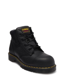 Icon Industrial 4 Eye Boot by Dr. Martens