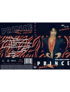 Prince Dirty Mind Tour 2 Dvdr Set (Paris And New York) by Etsy
