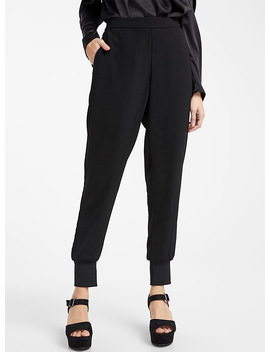 Recycled Polyester Jogger Pant by Vero Moda