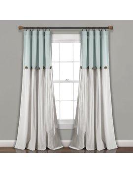 Beckham Window Solid Semi Sheer Rod Pocket Curtain Panels by Eider & Ivory