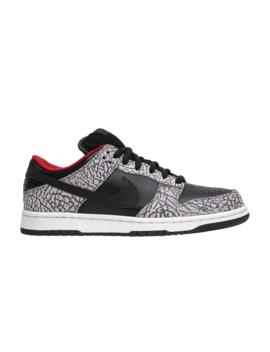 Supreme X Dunk Low Pro Sb 'black Cement' by Nike