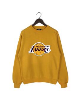 Vintage 90s La Lakers Crewneck Sweatshirt Size Kobe Bryant by Vintage  ×  Nba  ×  L.A. Lakers  ×