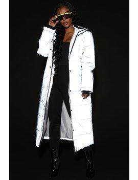 Reflecting On You Jacket   Grey by Fashion Nova