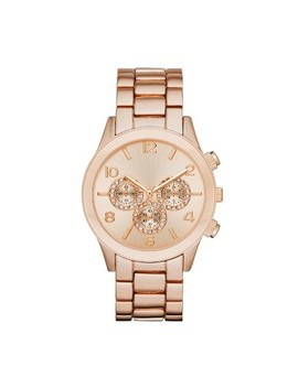 Women's Glitz Dial Bracelet Watch   A New Day™ Rose Gold by A New Day