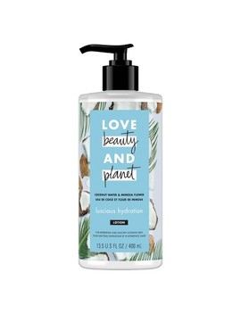 Love Beauty & Planet Coconut Water And Mimosa Flower Hand And Body Lotion   13.5 Fl Oz by Shop This Collection