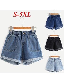 Women's Fashion Summer Sexy Slimn Fit Denim Shorts High Waist Jean Shorts Ns0122 by Wish