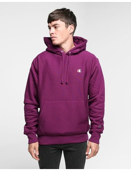 Champion Reverse Weave Hoodie Venetian Purple by Champion