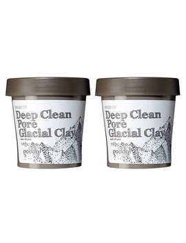 Goodal Wash Up Deep Clean Pore Glacial Clay Wash Off Mask, 2 Pack by Goodal