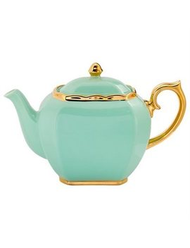 Vintage Mint Green Teapot by Indigo