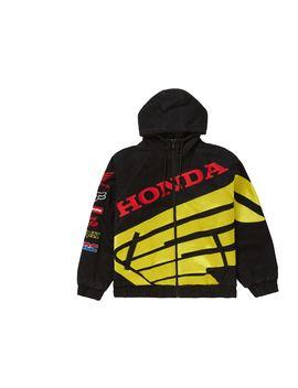 Supreme Honda Fox Racing Puffy Zip Up Jacket Black by Stock X