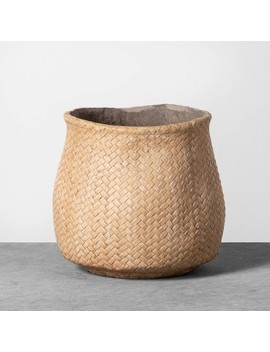 Planter Woven Cement   Hearth & Hand™ With Magnolia by Shop This Collection