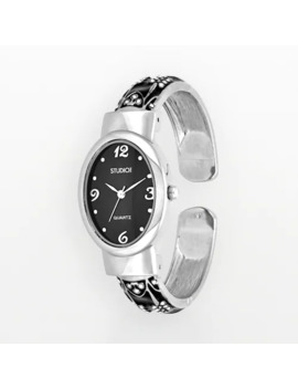 Studio Time Women's Scroll Bangle Watch by Studio Time