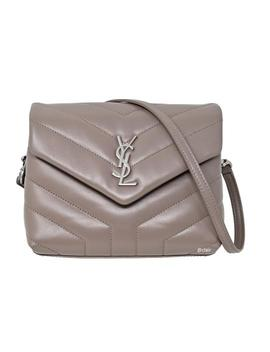 Monogram Loulou Toy Matelassé Mink Leather Cross Body Bag by Saint Laurent
