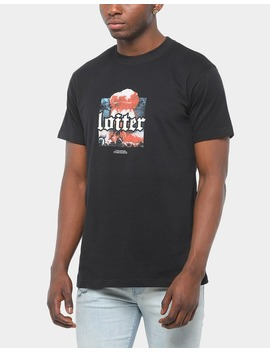 Loiter Nyc Wasteland Ss Tee Black by Loiter Nyc